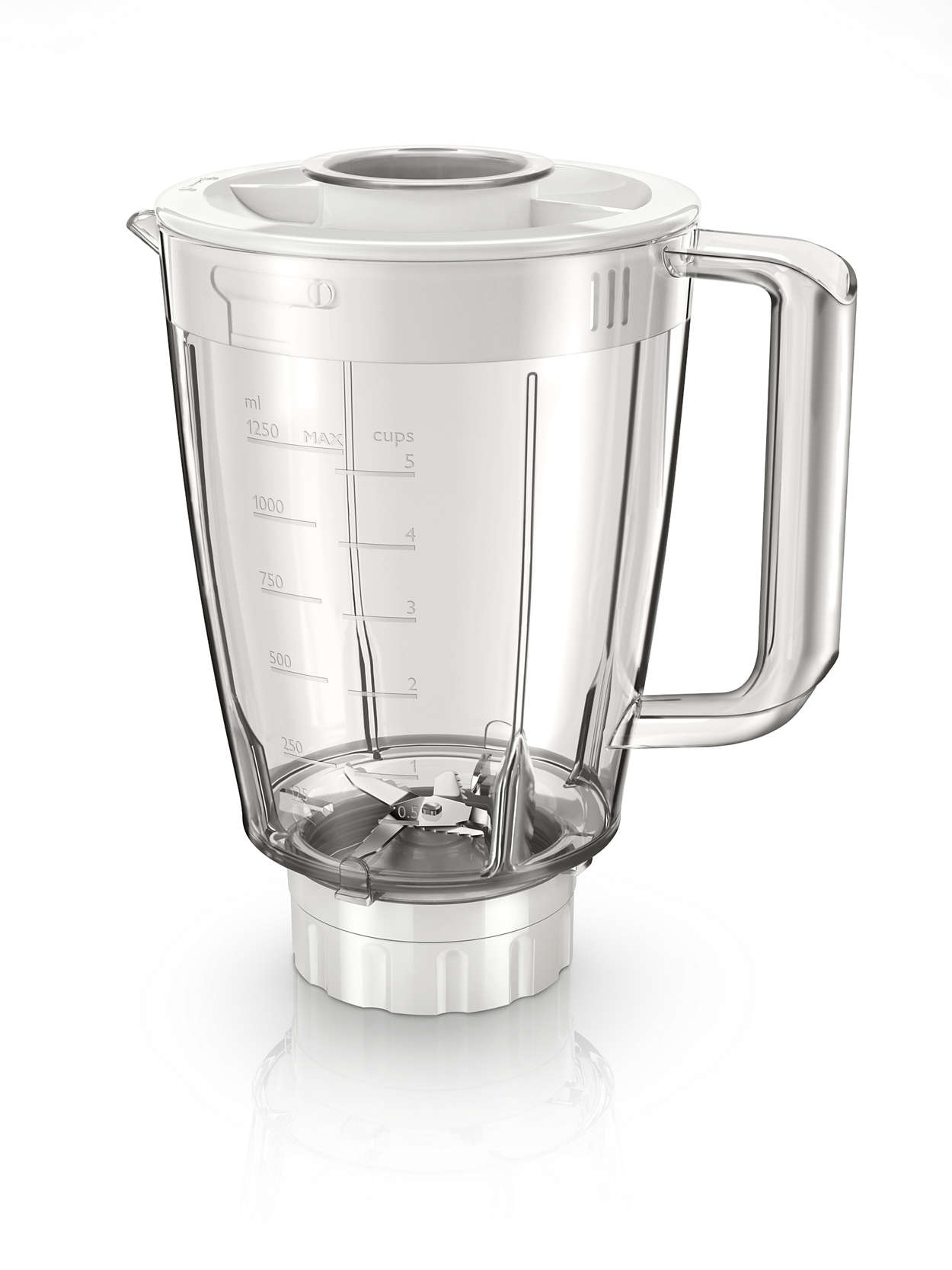 Extra jar with 5-stars blade for your blender