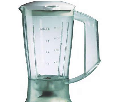 دورق الخلاط البلاستيكي