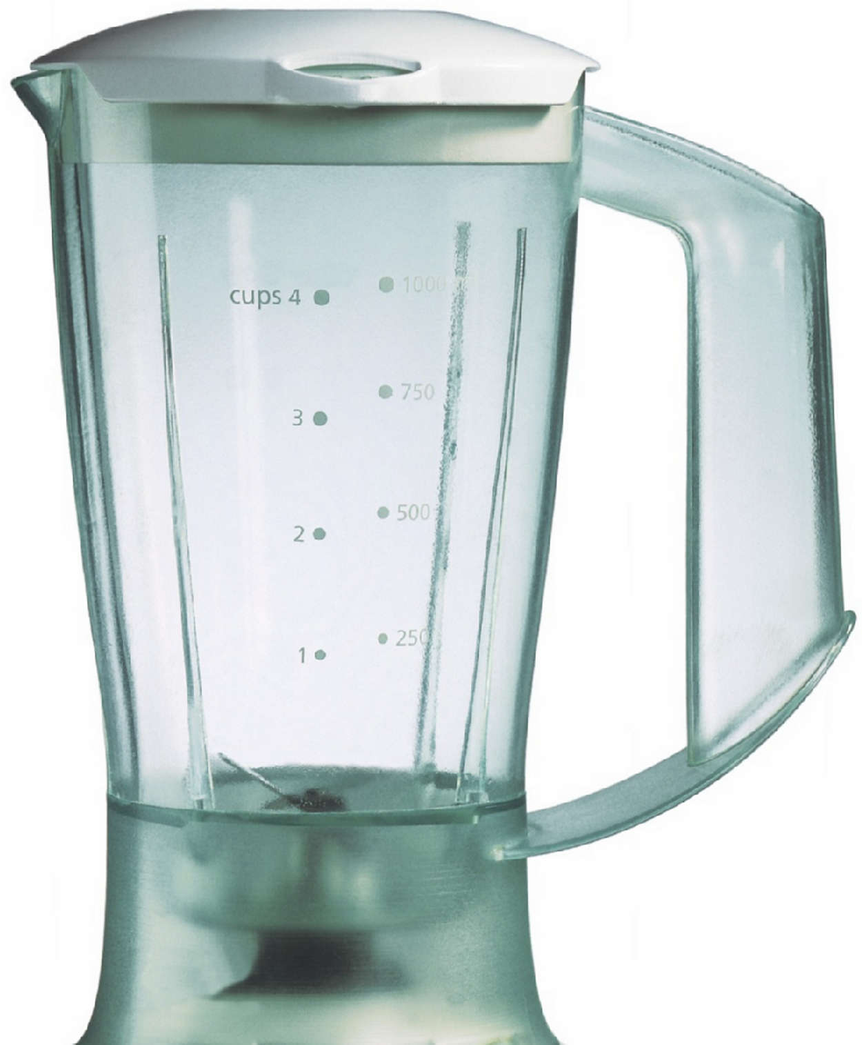 Plastic blender jar