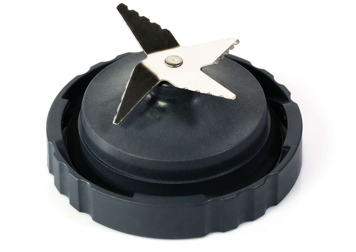 Pour couper finement des ingrédients avec un blender