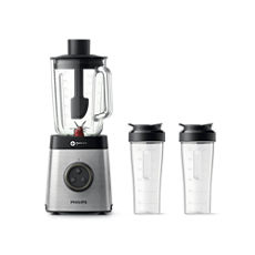 HR3655/00 -   Avance Collection Blender med 2 ta-med-muggar