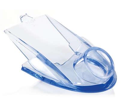 Vereinfacht das Gießen von Saft in ein Glas