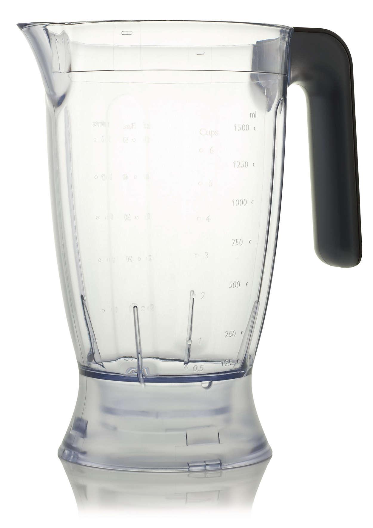 Vaso medidor de licuadora para la procesadora de alimentos