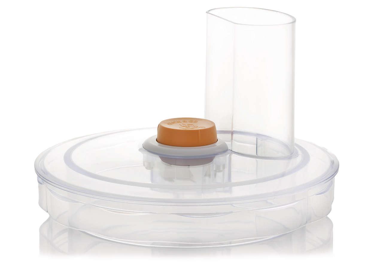 Lock till matberedarens skål