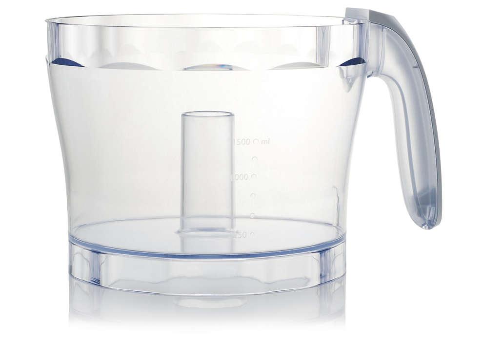 Una pieza indispensable del robot de cocina