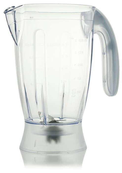 Blender beaker for your food processor
