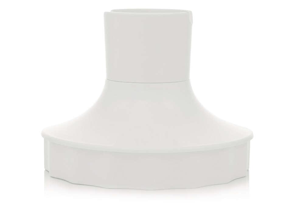 Соединение двух частей ручного блендера