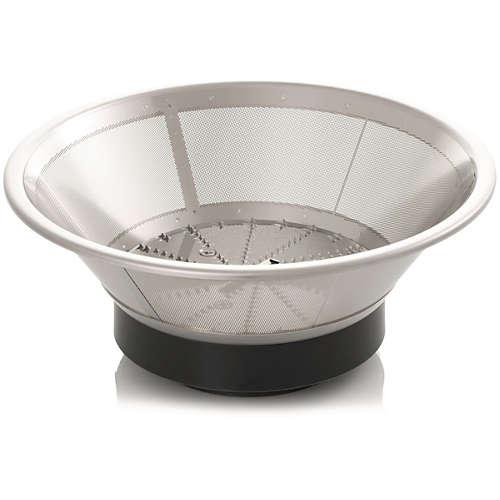 Aluminium Collection Entsaftersieb
