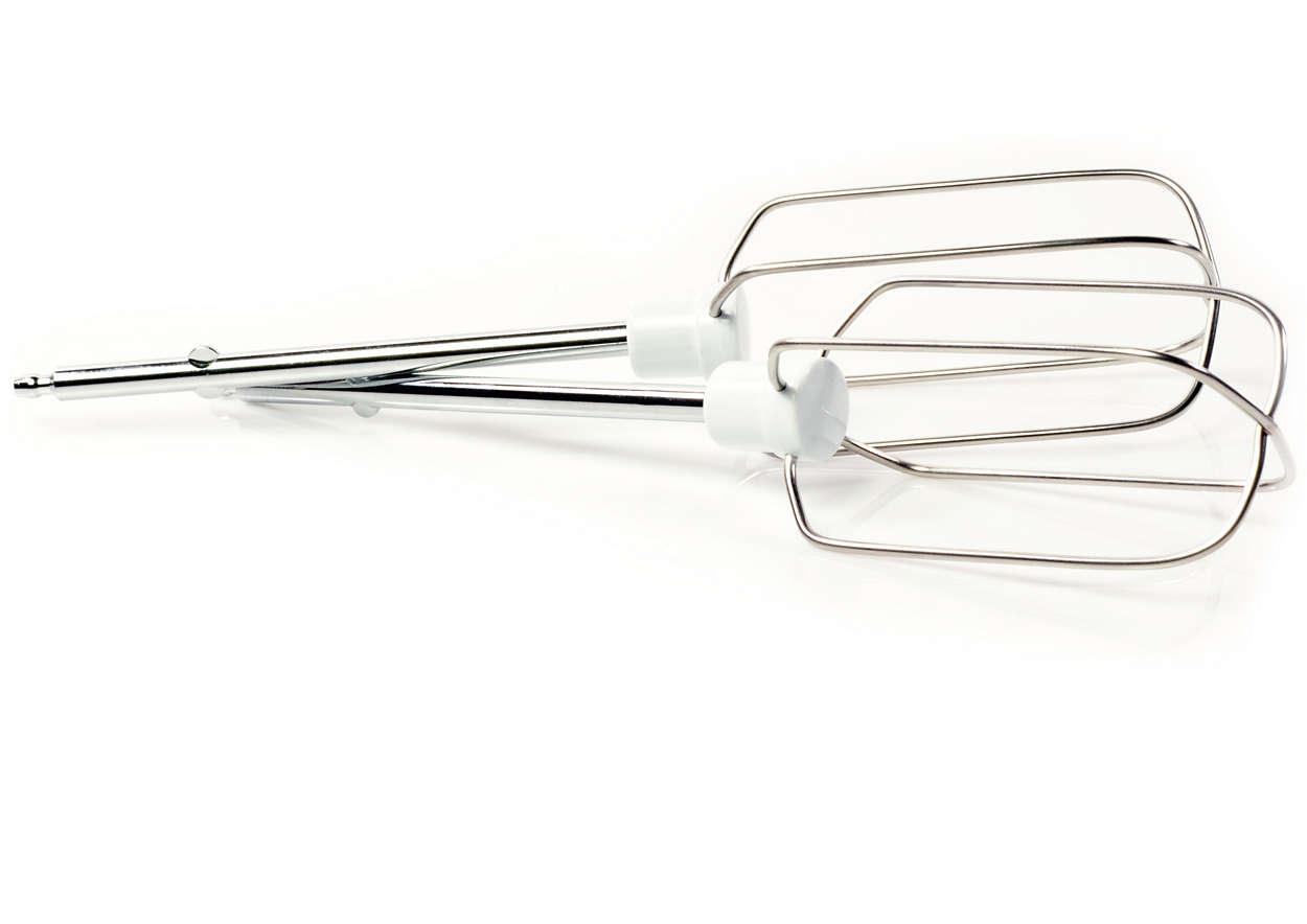 Unverzichtbar für den Gebrauch Ihres Handmixers