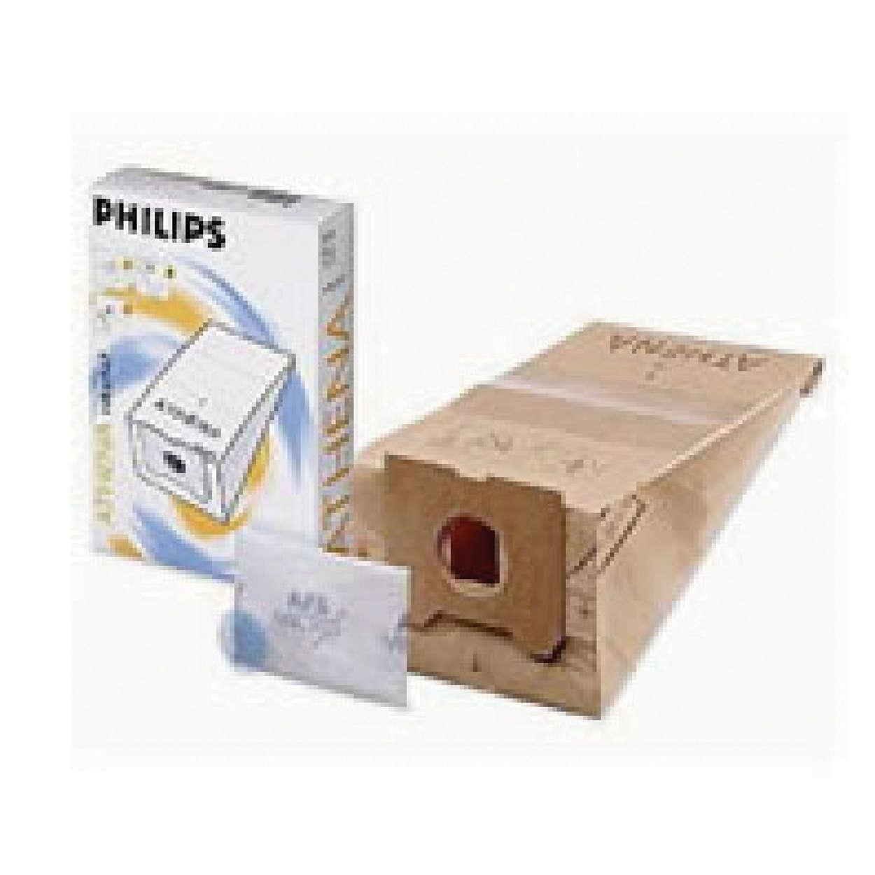 De originele stofzak van Philips