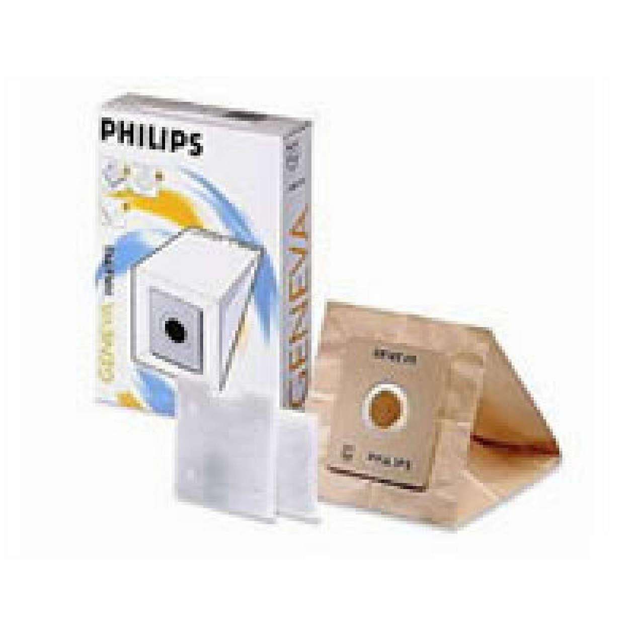 The original Philips dust bag