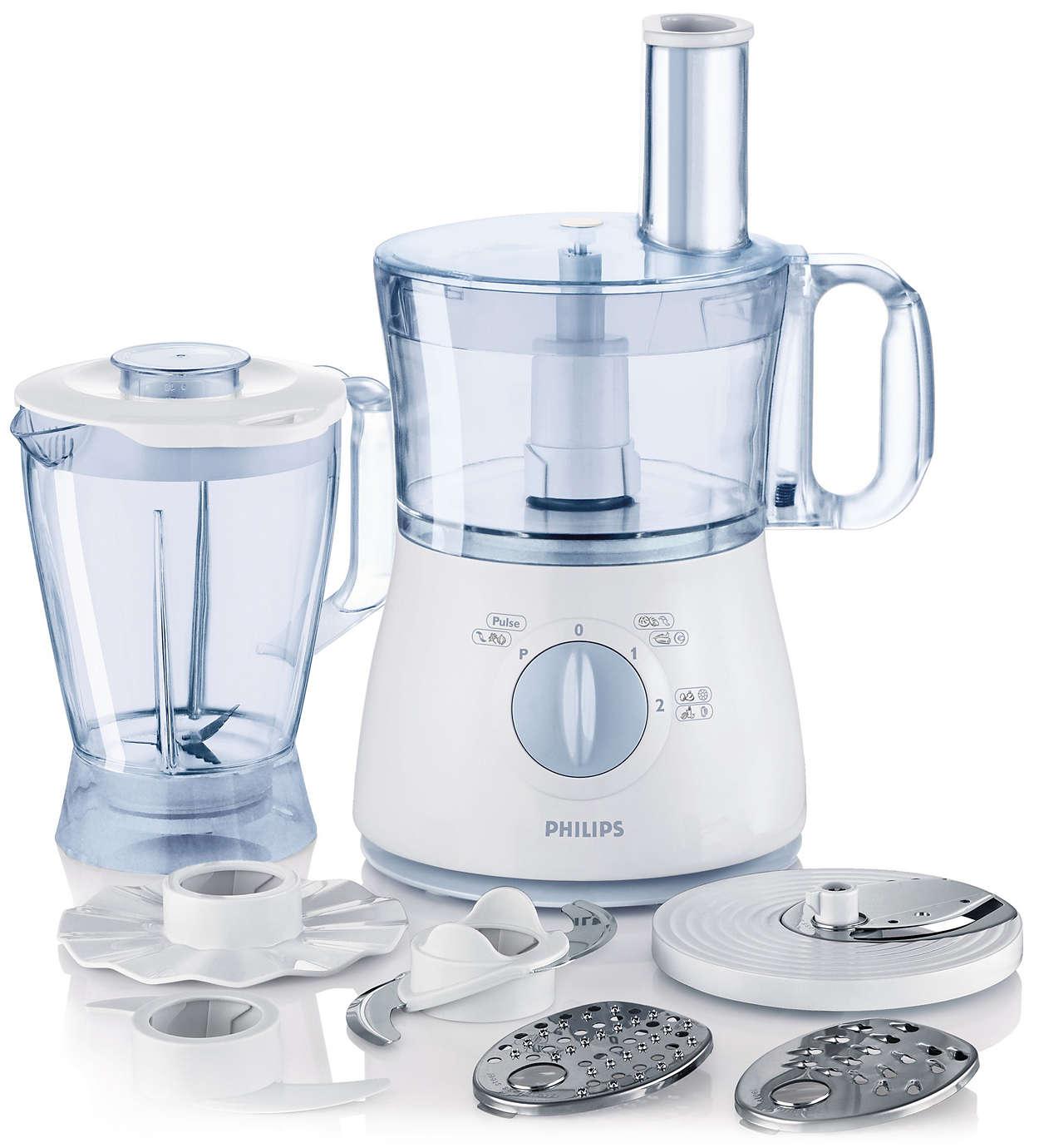 Daily collection keukenmachine hr7625 70 philips - Robot da cucina philips essence ...