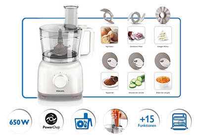 Daily Collection Food Processor Hr7627 01 Philips
