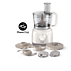 Philips Daily Collection Food processor HR7627/01 650W 2 speeds + pulse 2.1 L bowl Accessories for + 15 functions