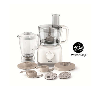 HR7627/01 FOODPROCESSOR 13A UK PLUG & W