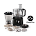 Philips Daily Collection Food processor HR7628/90 650 W Compact 2 in 1 setup 2.1 L bowl Accessories for + 25 functions