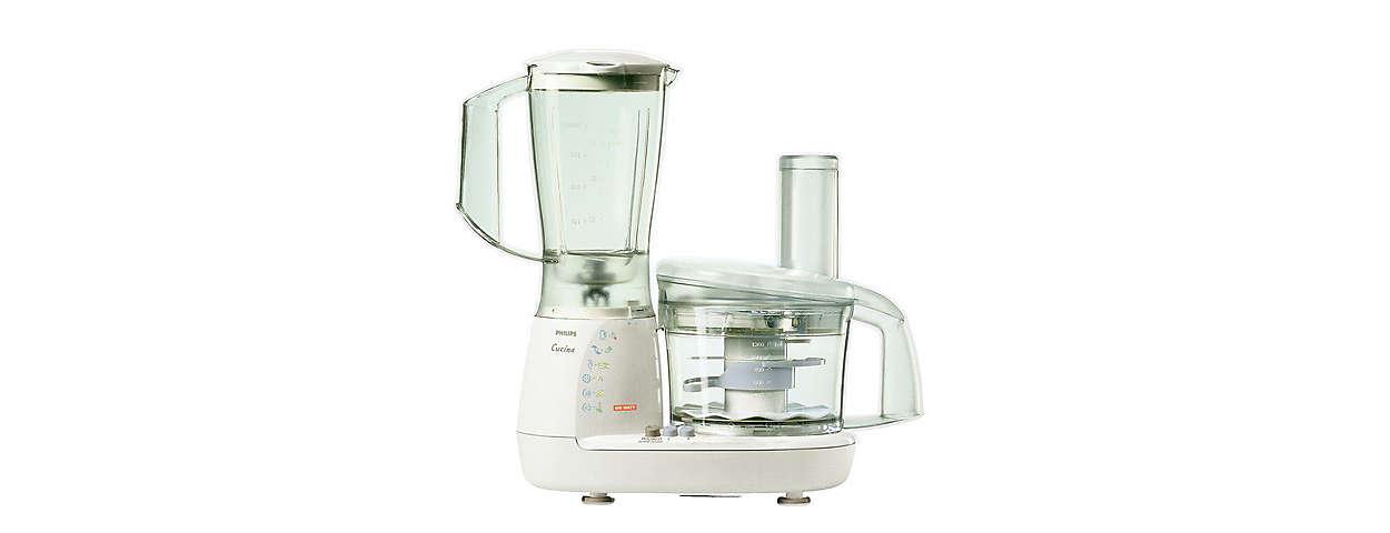 Procesador de alimentos hr7638 80 philips - Robot de cocina philips ...