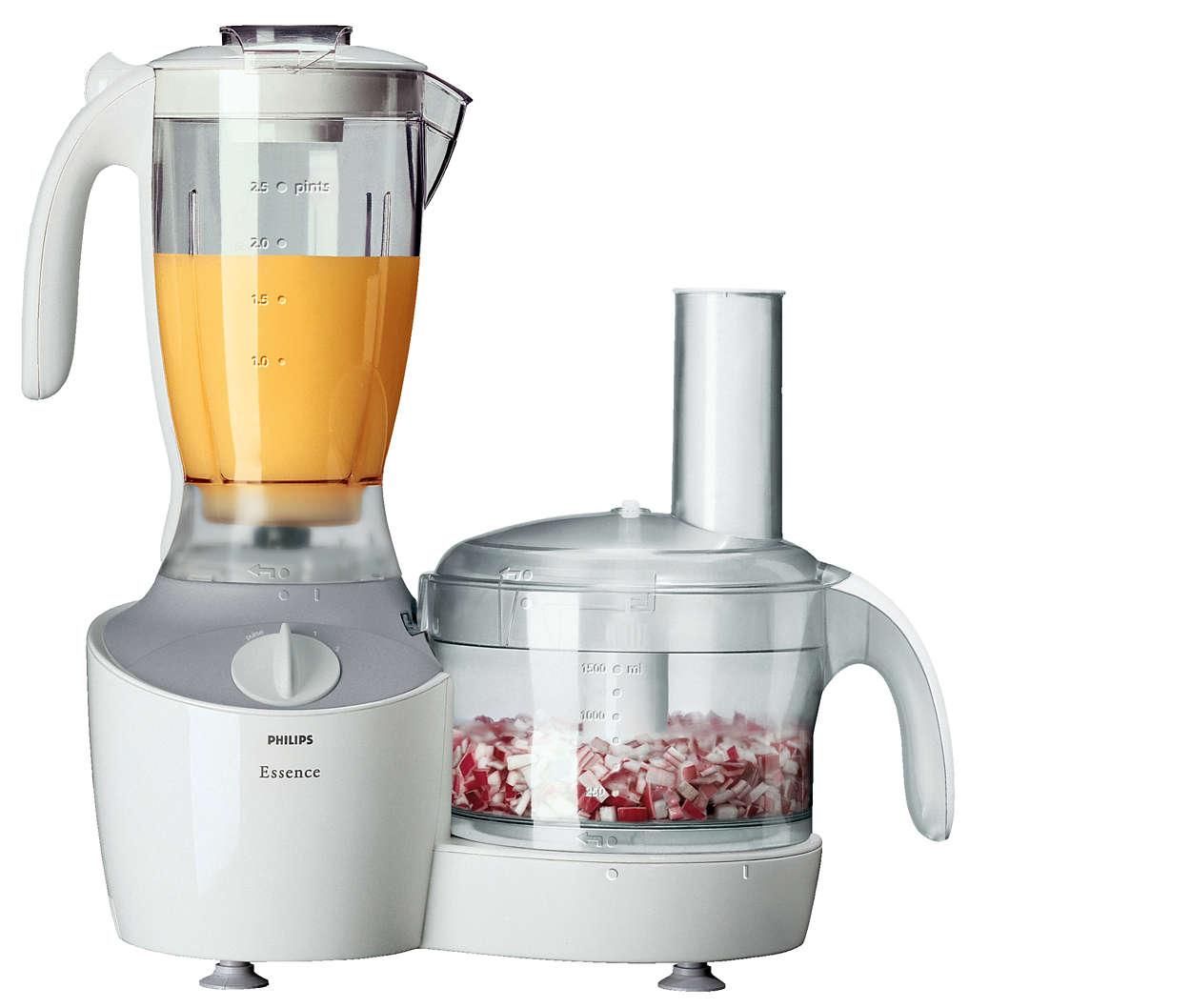Robot de cuisine hr7750 01 philips for Robot cuisine philips