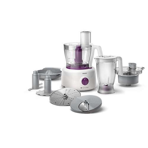 Compra robot da cucina 5 in 1 1000 w recipiente da 3 4 l hr7751 00 online negozio philips - Robot da cucina bialetti ...