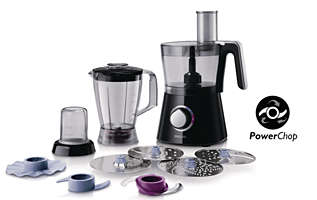 750 W Compact 3 in 1 setup Food processor