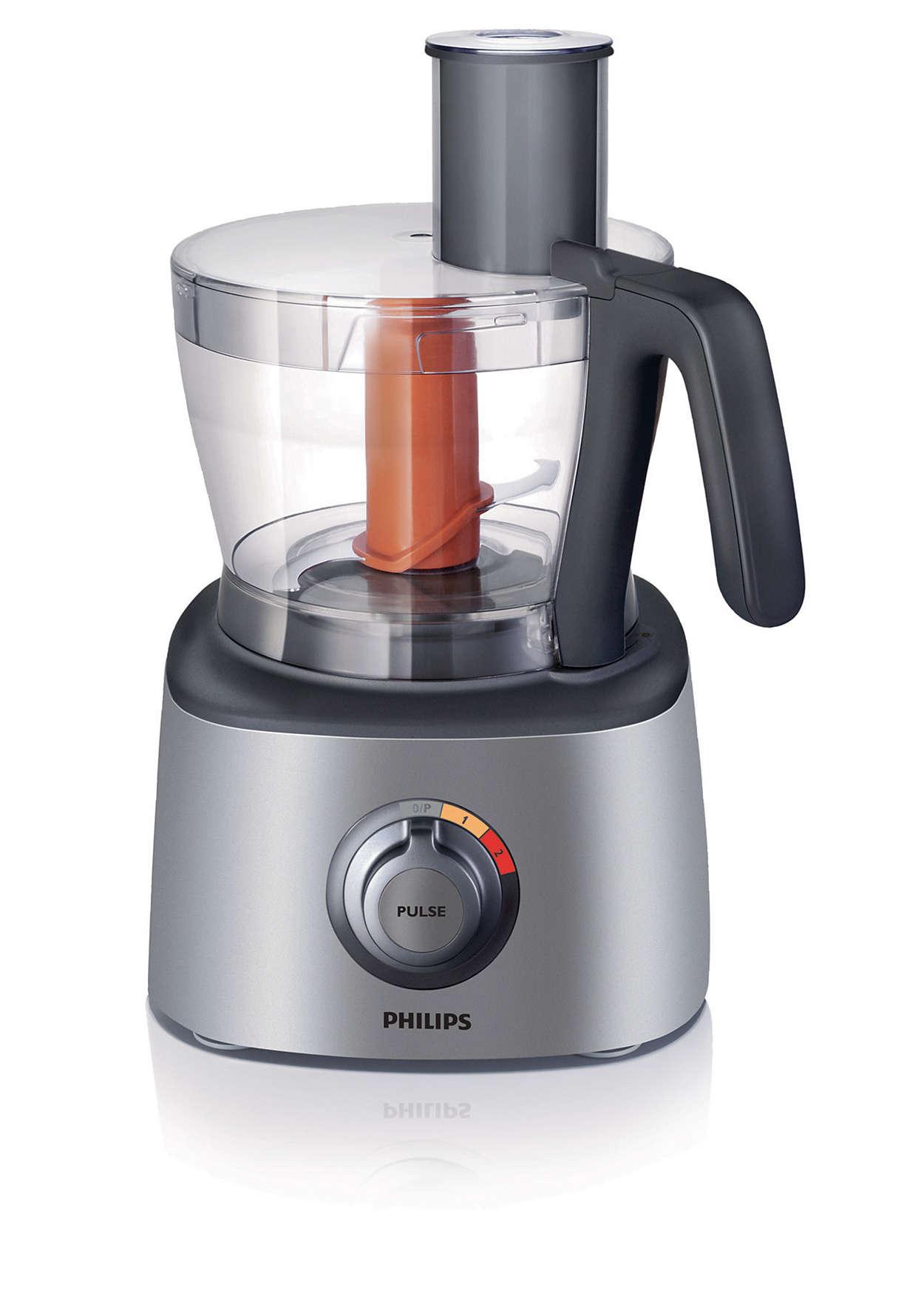 Robot de cuisine hr7771 53 philips for Robot cuisine philips