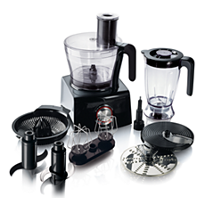 HR7774/90 Pure Essentials Collection Food processor