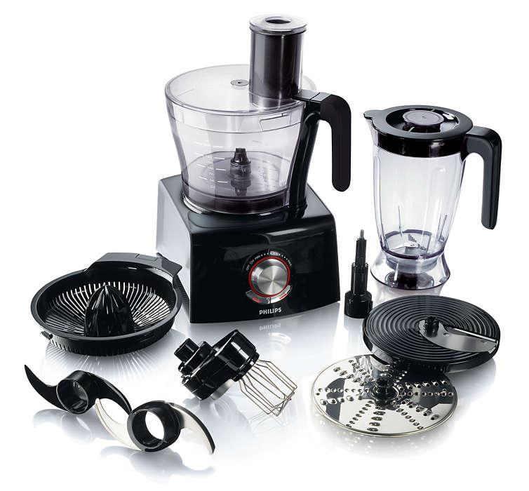 Pure Essentials Collection Robot de cuisine HR7774/91 | Philips