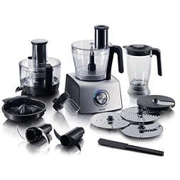 Aluminium Collection Robot de cozinha