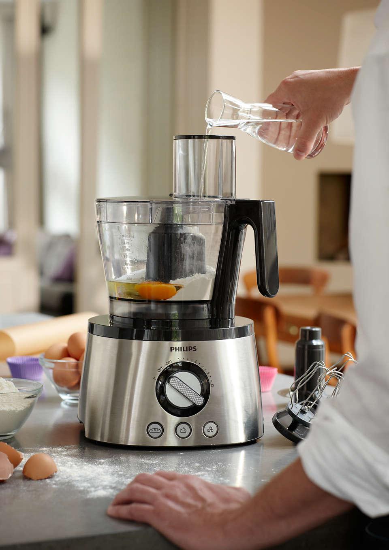 PHILIPS AVANCE HR777800 Küchenmaschine mit Entsafter und