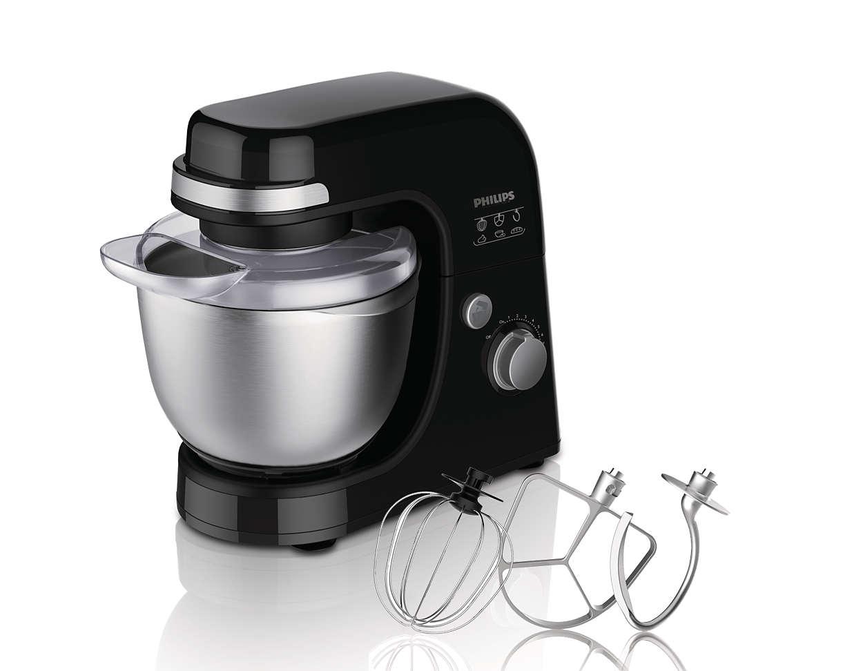 Modern Exhibition Stand Mixer : Viva collection kitchen machine hr philips