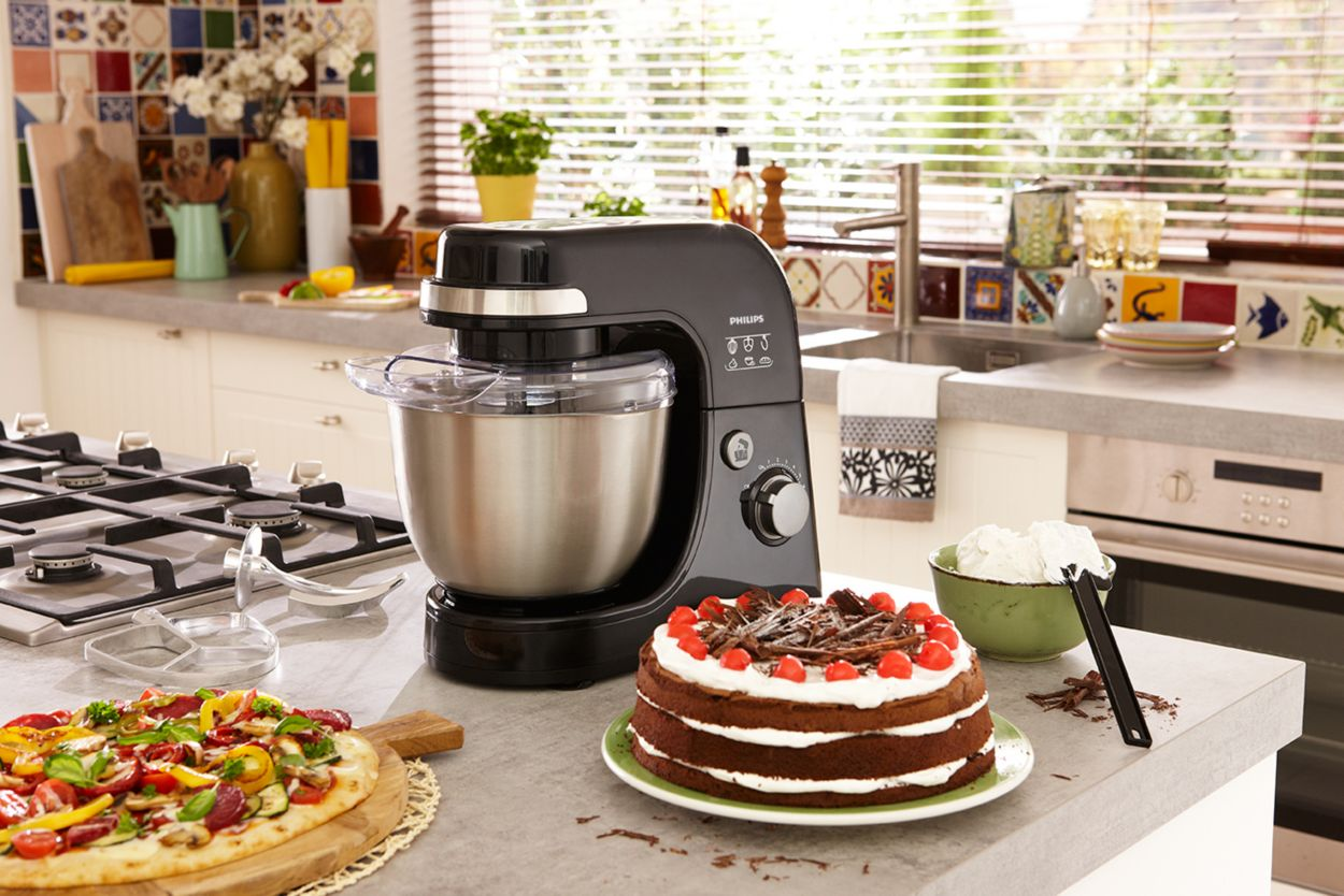 Uncategorized Philips Kitchen Appliance viva collection kitchen machine hr792090 philips 3 pizzas in minutes