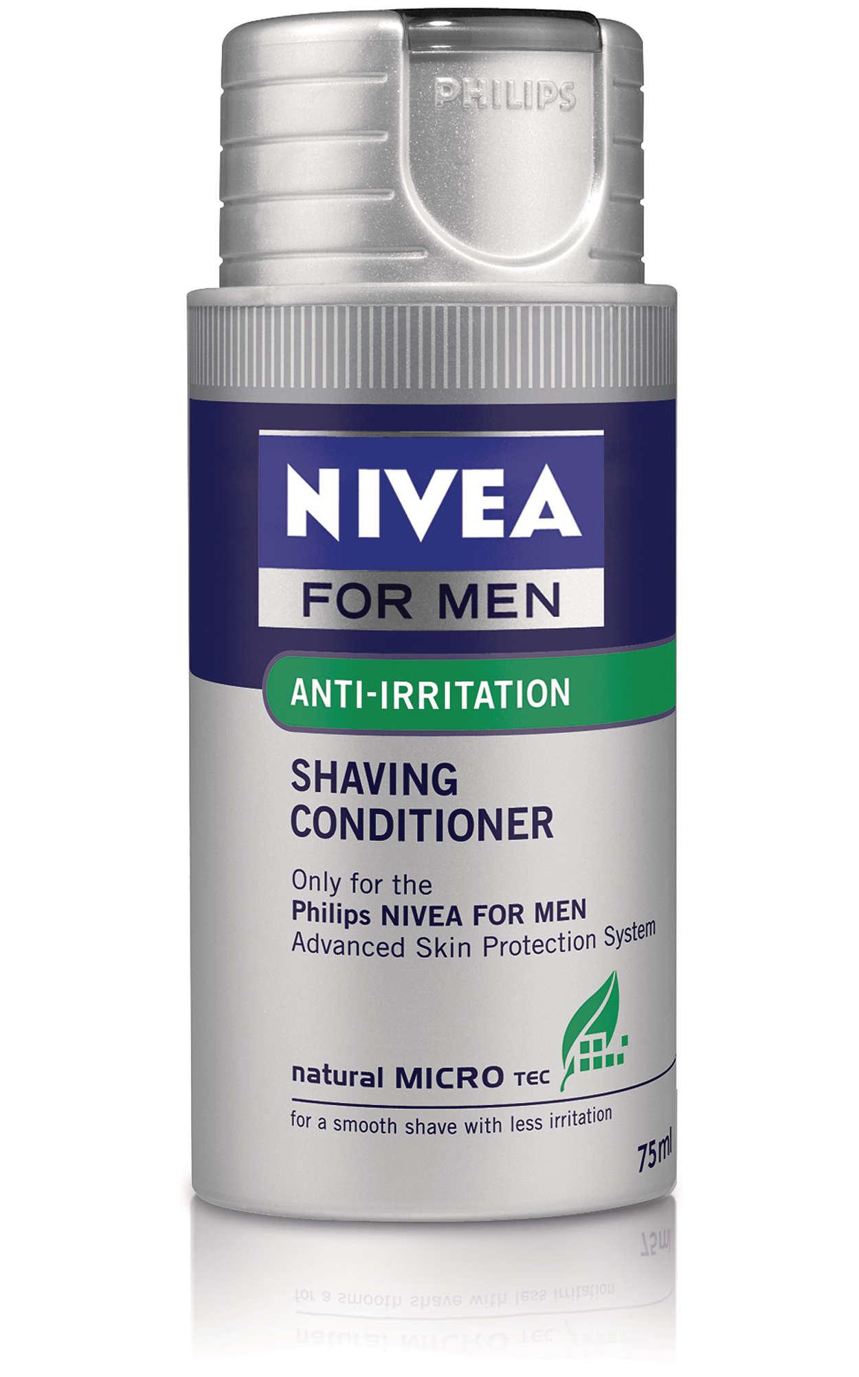 Loción hidratante para el afeitado