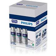 NIVEA 3 frascos de loción de afeitado