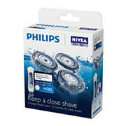 NIVEA shaving heads