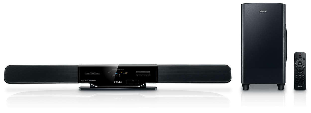 Gör din HDTV-upplevelse komplett