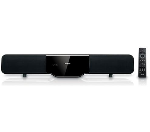 soundbar home theater hsb2351 f7 philips. Black Bedroom Furniture Sets. Home Design Ideas