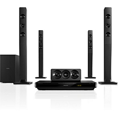HTB3570/40  5.1 3D Blu-ray Home theatre