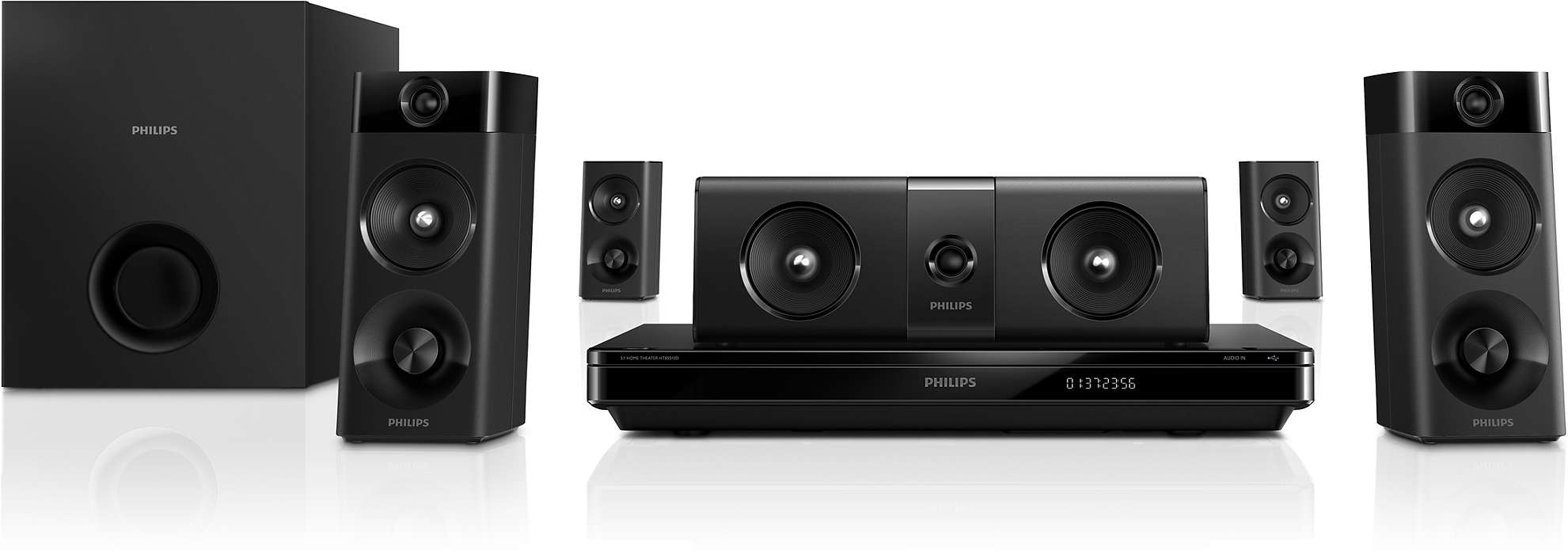 True cinematic experience with Crystal Clear Sound