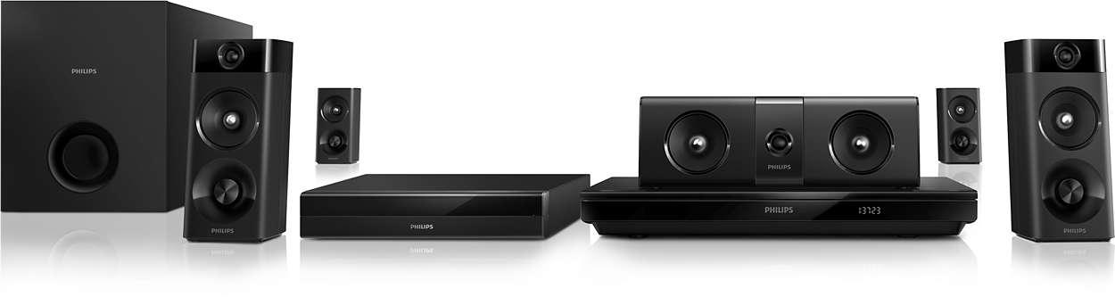 1000W Powerful cinematic surround sound