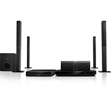 HTB5580G/12 -    5.1, 3D Blu-ray, Home Entertainment-System