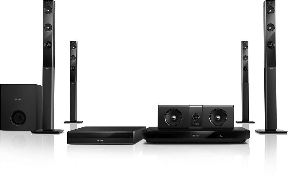5.1 3D Blu-ray Home theater HTB5580/98 | Philips