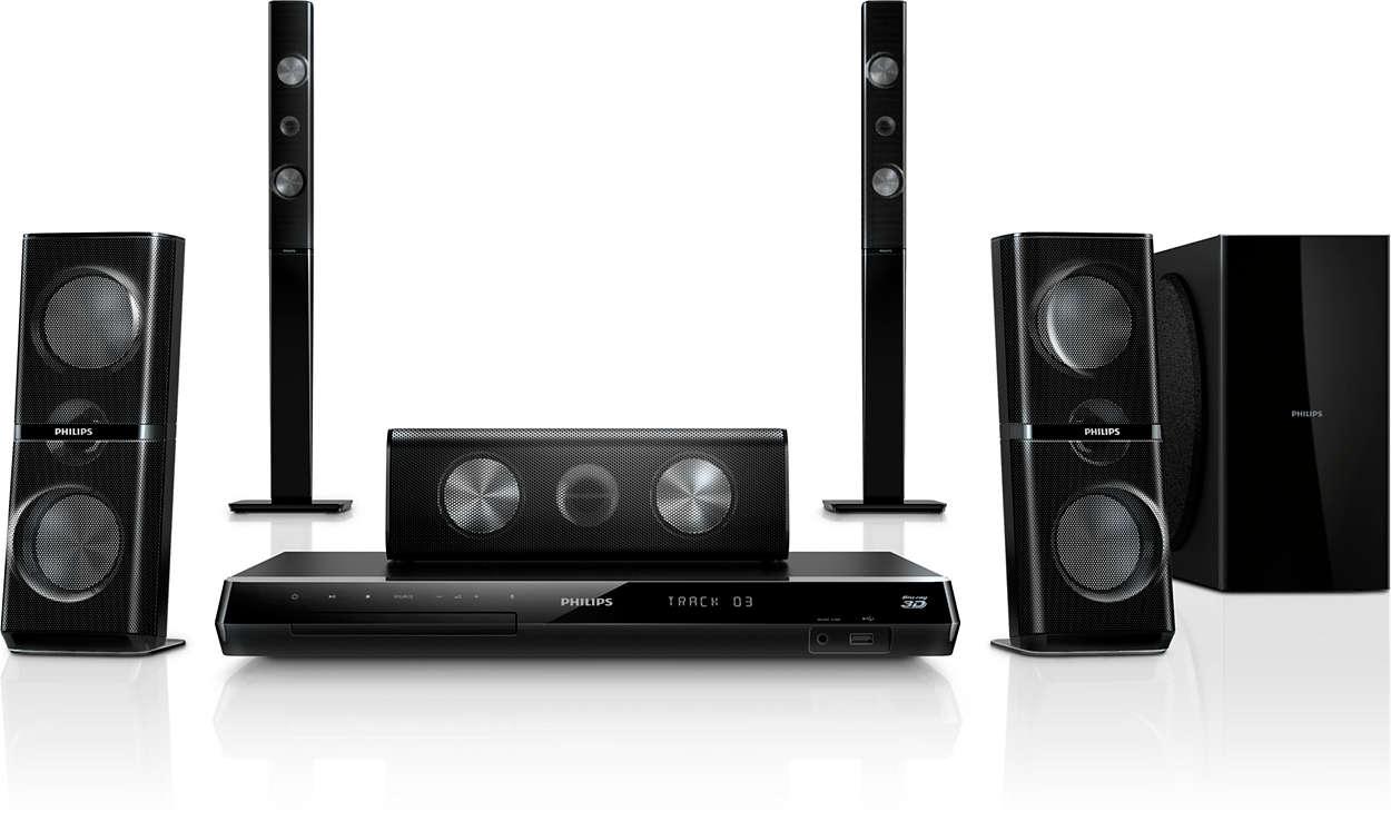 Мощное звучание с 3D-направленными АС у вас дома