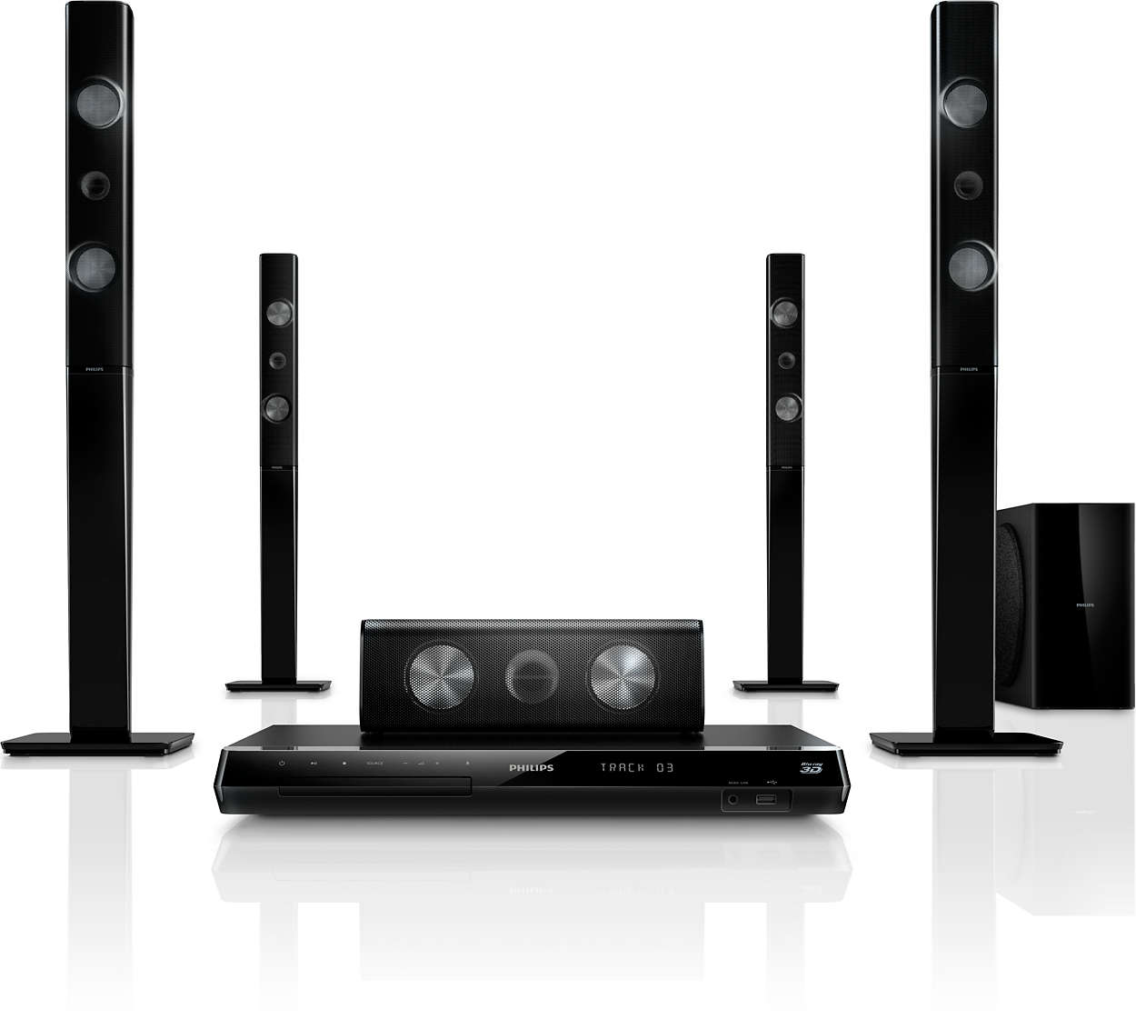 5 1 home theater htb7590kd 98 philips. Black Bedroom Furniture Sets. Home Design Ideas