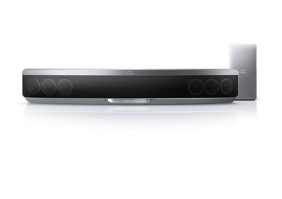 Dosud nejtenčí zařízení Blu-ray Soundbar stechnologií Ambisound