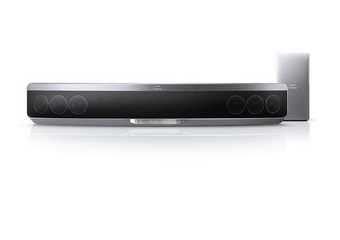 La SoundBar Blu-ray più sottile con Ambisound