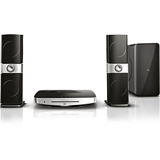 HTB9225D/12 Philips Fidelio SoundHub 2.1, 3D Blu-ray, Home Entertainment-System