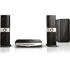 HTB9225D/12 Philips Fidelio SoundHub 2.1 3D Blu-ray Home theatre