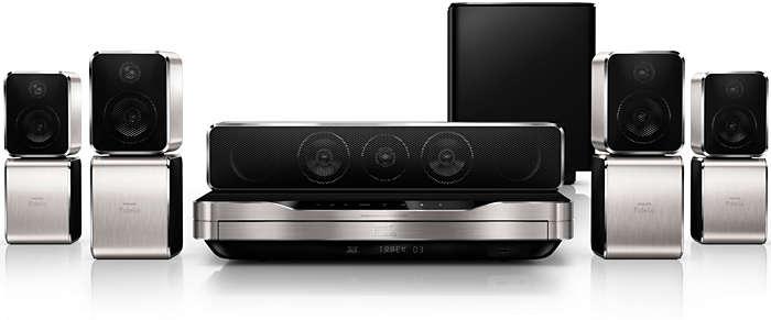 Audio surround da tutte le angolazioni, come al cinema