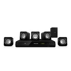 HTD3500/55  Sistema de Home Theater 5.1