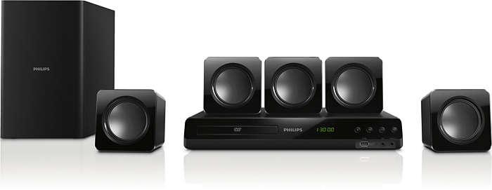 300W Powerful cinematic surround sound